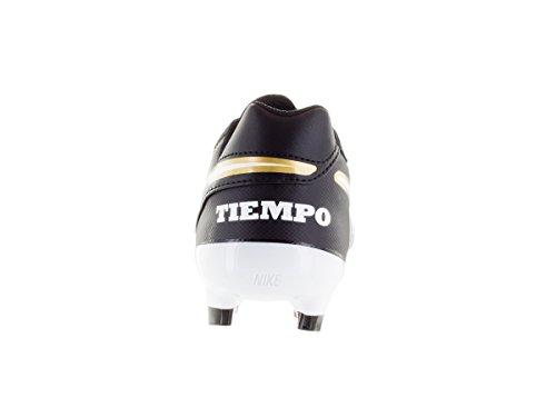 Tiempo 8 5 II Genio Black FG Leather Sz Soccer Cleat Nike a6qpCq