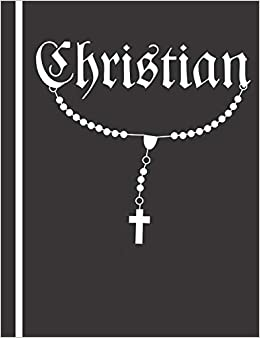 Composition Notebook with Bible Verse: Christian Journal