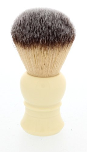 West Coast Shaving Ultra Soft Synthetic Shaving Brush. Highest Quality, Dense Fibers (White - Lantern)