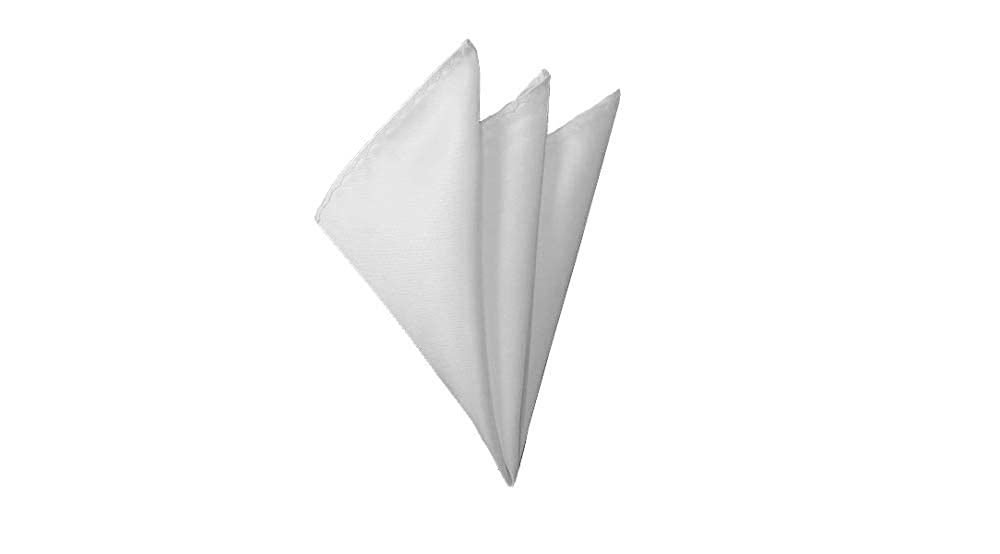 Solid White Handkerchief