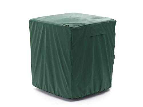 Covermates - Air Conditioner Cover - Fits 26 Width x 26 Depth x 32 Height - Classic - 12-Gauge Vinyl - Mesh Vent For Airflow - Elastic Bottom For Secure Fit - 2 YR Warranty - Water Resistant - Green