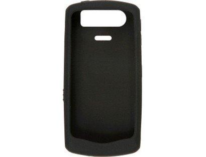 BlackBerry Rubberized Skin for 8110, 8120, 8130 Pearl (Black) Blackberry Pearl 8130 Stereo