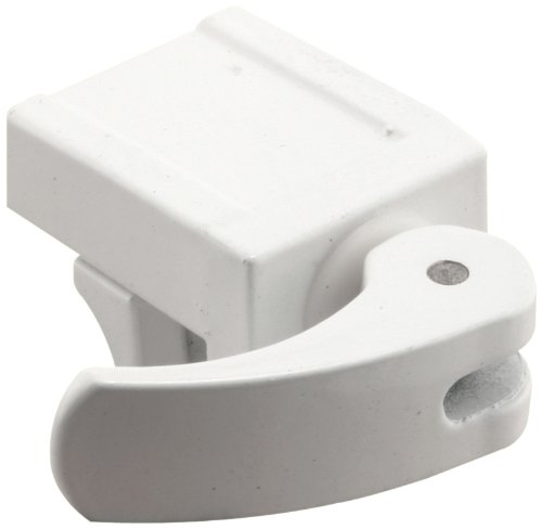 Defender Security S 4574 Vinyl Window Lock, 1-3/16 in., Diecast Construction, White, No Mar (Pack of 2)