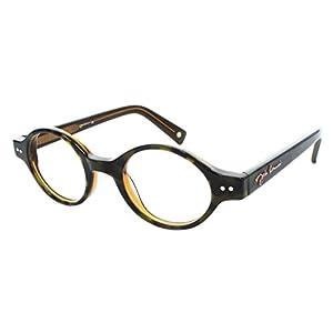 John Lennon JL10 Mens Eyeglass Frames - Black/Brown