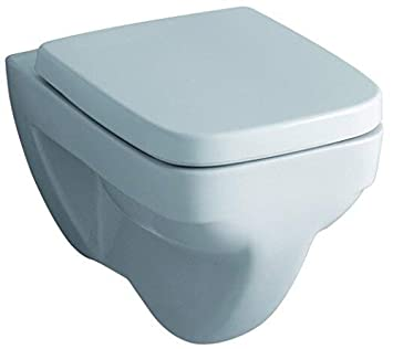 WC Sitz Sanibel zu Keramag Renova Nr 1 Plan Edelstahlscharnier Deckel Rimfree