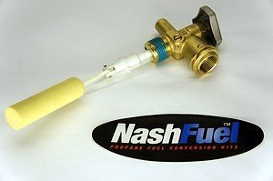 Nashfuel Propane Tank Service Valve Pv2004G Rego Style Coupler Opd Grill Bbq Overfill