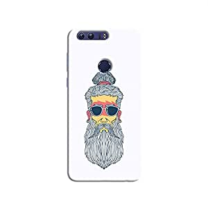 Cover It Up - Hipster Yogi Honor 8 Hard Case