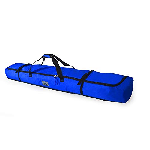 High Sierra Padded Ski Bag for Single Pair of Skis (Up to 185cm) - Vivid ()