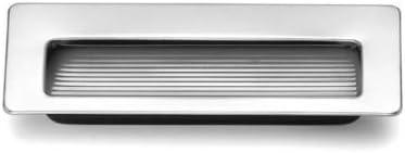 Uñero Etamp,Tirador para puertas correderas Cromados, Precio Unidad Modelo 3802 Cr 80mmx36mm: Amazon.es: Bricolaje y herramientas