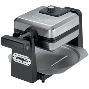 Waring WMK250SQ Pro New Belgian Waffle Maker - Stainless Steel & Black - Belgian Waffle - 4 x Square...