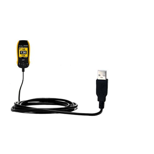 Classic Straight USB Cable suitable for the SkyGolf SkyCaddie GIMME with Power Hot Sync and Charge Capabilities - Uses Gomadic TipExchange Technology