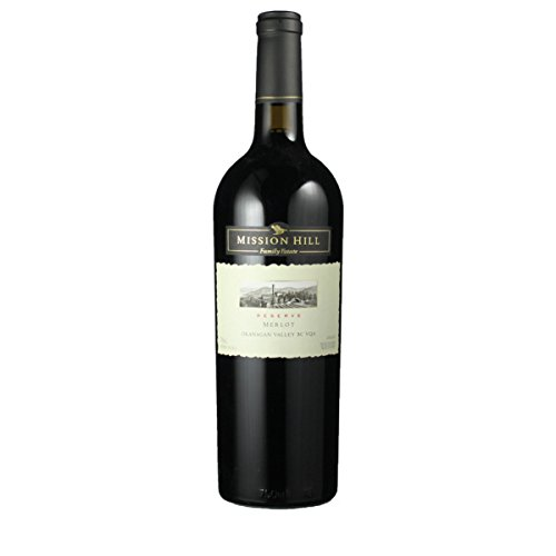 Mission Hill 2011 Merlot Reserve Okanagan Valley 0.75 Liter