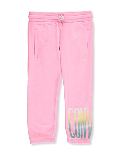 Converse Big Girls' Joggers (Sizes 7-16) - Pink glo, 8-10 ()