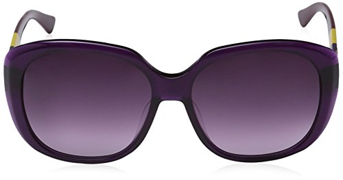 TZQ Dame Polarisation Gradient Lunettes De Soleil,Purple