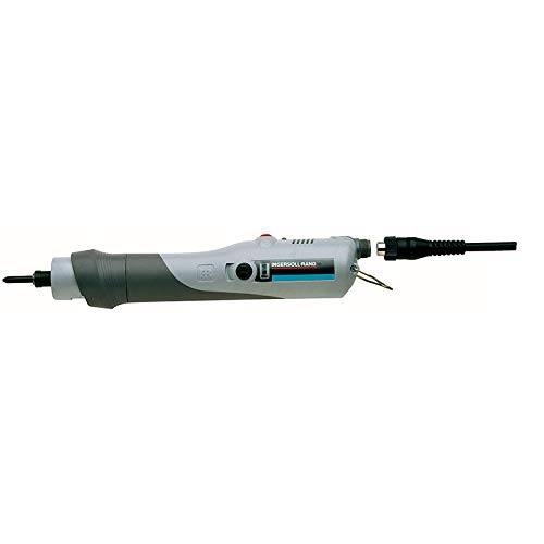 Ingersoll Rand Inline Electric Screwdriver, high torque, 11-26 in lbs, 300 rpm, Lever Start