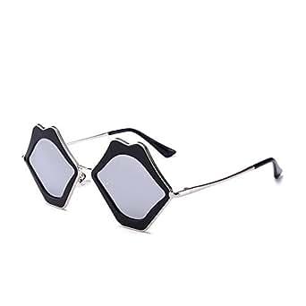 Kiss Lip Shape Polarized Retro Driving Sunglasses