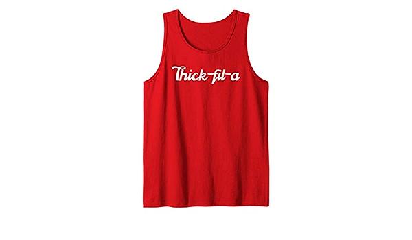 Thick-fil-A Tank Women