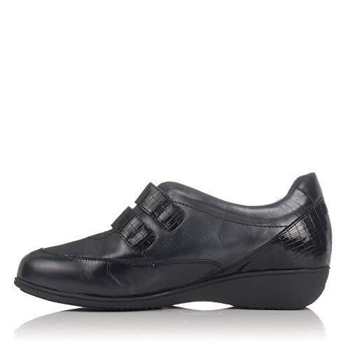 Cutillas Negro Velcros Doctor 53537 Mujer Deportivo Zapato 2 AR1waP