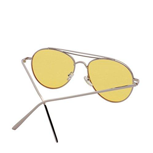 sol la la los las de gafas Yellow pink sol moda de de las gafas las gafas de sol de de Alger de de de y cara hombres gafas cara de la qgwHOIWf18