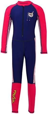 Happy Cherry Kids Full Body Swim Bodysuit UPF 50 Quick Dry Dive Wetsuits