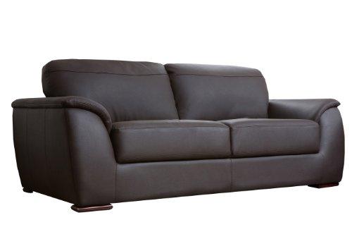Abbyson Living Carlisle Leather Sofa