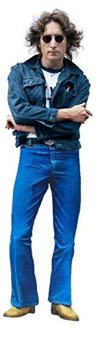 JOHN LENNON THE BEATLES STANDUP CUTOUT STANDEE POSTER FIGURE. -