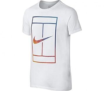 Nike Ya Irridescent Court tee YTH Camiseta de Manga Corta b0e88d1dd032e