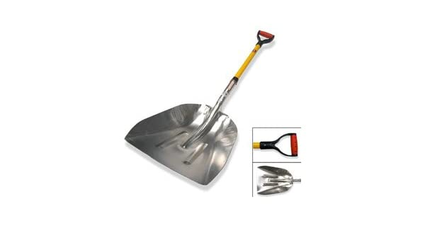 Amazon.com : Big Scoop Aluminum Shovel : Snow Shovels ...