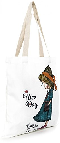 White Bag ESTABLISHED ESTABLISHED Nice Day Tote SEVENTY9 Women's SEVENTY9 London xXxFYA