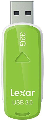 Lexar JumpDrive S37 32GB USB 3.0 Flash Drive - LJDS37-32GABNL (Green)