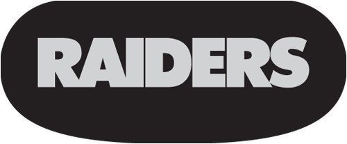OAKLAND RAIDERS NFL EYEBLACK STRIPS (6 EACH) by Party Animal (Oakland Raiders Nfl Eye)
