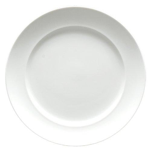 - Fortessa Fortaluxe SuperWhite Vitrified China Dinnerware, Cassia 10 5/8-Inch Dinner Plate, Set of 6