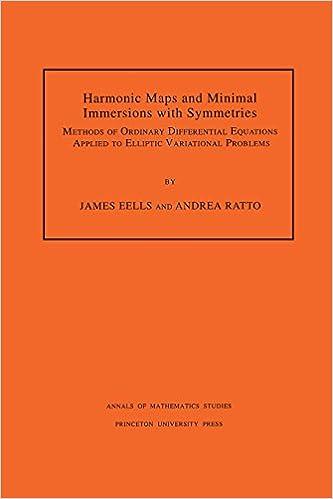 Téléchargez des ebooks gratuits en ligne pdf Harmonic Maps and Minimal Immersions with Symmetries 069110249X (Littérature Française) PDF PDB CHM