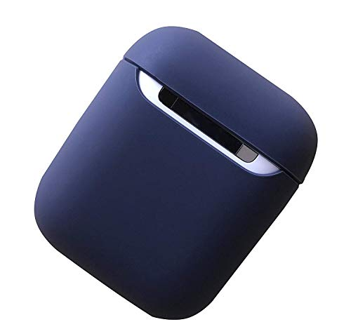 EloBeth Compatible Airpods QI Wireless Charging Protective Case Cover(Blue)