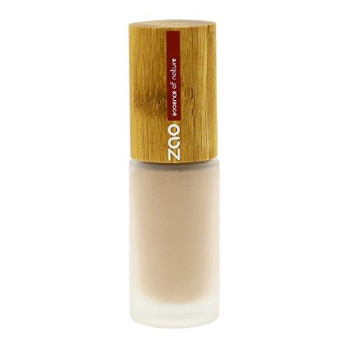 ZAO Liquid Silk 701 IVOIRE, Flüssig-Makeup Grundierung Foundation mit Bambus (bio, vegan, Naturkosmetik)