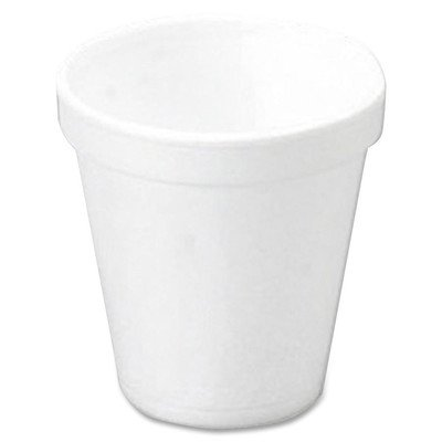 Insulated Styrofoam Cup, 10 Oz, White (DRT10J10)Sold as 1 CT