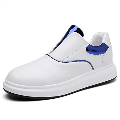 uomo Red casuale Size Color tela scarpe tendenza WangKuanHome estate da Blue uomo da scarpe da uomo selvaggia scarpe 38 Scarpe traspirante di wxwfUqOY
