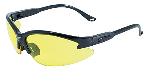 Global Vision Eyewear Cougar Safety Glasses, Yellow Tint - Lens Glasses Amazon Yellow