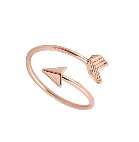 (1MATCH Love Struck Arrow Wrap Ring - Mother's Day Gift, Size 5-7 )