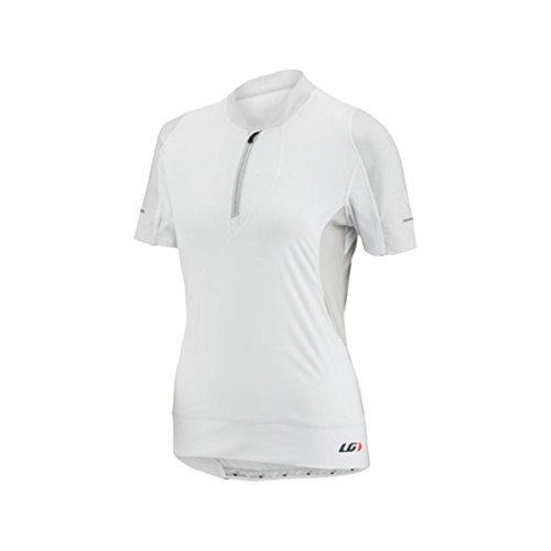 Louis Garneau Women's Gloria Cycling Jersey White Medium [並行輸入品]   B06XFVGBBS