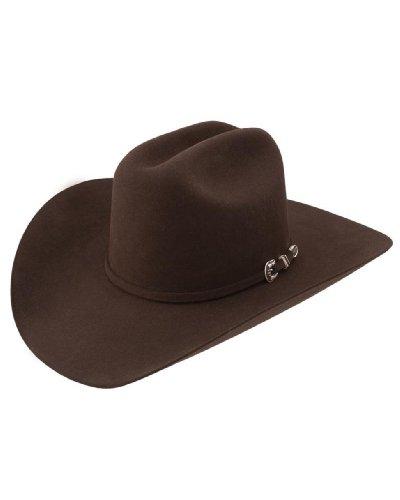 Stetson Men's 6X Skyline Fur Felt Western Hat Chocolate 7 Fur Western Hat