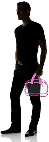 f3468029807 Nova Sport Wear Clear Purse That is Event Stadium Approved. Clear Handbags  for Cosmetics,