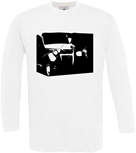 Dodge Tama o Texto larga S Muscle ador Dise Camiseta 2store24 Car Blanco Hombre Cool 3xl Us 1947 Cita Manga Z6FnHSIxwq
