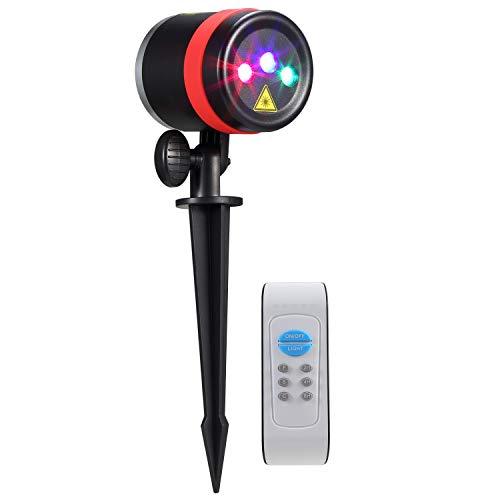 NEXGADGET RGB Garden Laser Light Red Green and