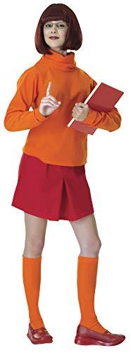Rubie's Costume Scooby-Doo Deluxe Adult Velma Costume, VELMA, Standard Size -