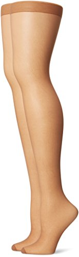 Just My Size Women's Smooth Finish Control Top Panty Hose, Suntan, 4X