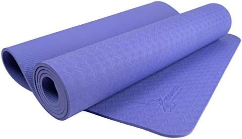 Yogaroo Australia Eco Friendly Non Slip Yoga Mat Sgs Certified Tpe Material Textured Non Slip Surface And Optimal Cushioning 72 X 25 Thickness 1 4 6mm Lavender Amazon Com Au Sports Fitness Outdoors