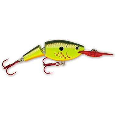 Rapala Jointed Shad Rap 04 Fishing lure (Bleeding Hot Olive, Size- 1.5)