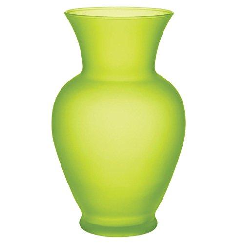 """Floral Supply Online 10 5/8"""" Spring Garden Vase - Decorative Glass Flower Vase for floral arrangements, weddings, home decor or office. from Floral Supply Online"""