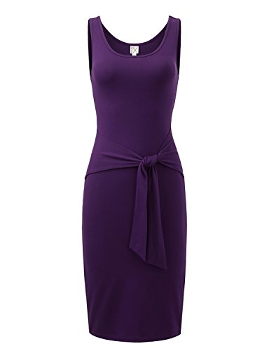 Regna X Love Coated Woman Purple club party Sleeveless Slim dress Xlarge